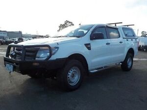 2013 Ford Ranger White Sports Automatic Utility Pakenham Cardinia Area Preview