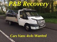 Cars Vans 4x4s WANTED MOT Failures etc.