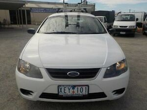 2009 Ford Falcon BF Mkiii XT (LPG) White 4 Speed Sports Automatic Wagon Pakenham Cardinia Area Preview