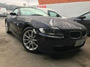 2008 BMW Z4 E85 MY07 Steptronic Black 6 Speed Sports Automatic Roadster North Hobart Hobart City Preview
