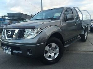 2011 Nissan Navara D40 MY11 ST-X King Cab Grey 5 Speed Automatic Cab Chassis Doveton Casey Area Preview