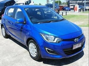 2014 Hyundai i20 PB Active Blue 4 Speed Automatic Hatchback Morningside Brisbane South East Preview