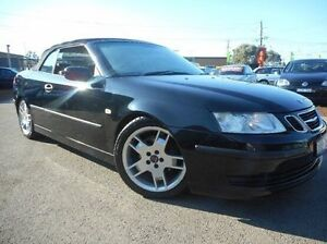 2005 Saab 9-3  Black Sports Automatic Convertible Thomastown Whittlesea Area Preview