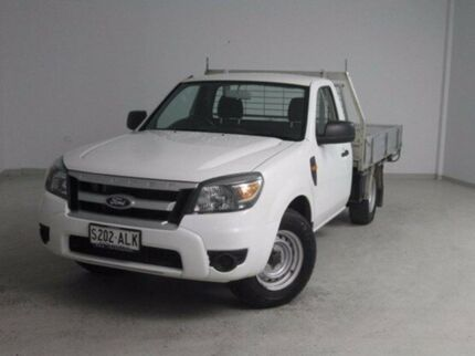 2011 Ford Ranger PK XL White 5 Speed Manual Cab Chassis Mount Gambier Grant Area Preview