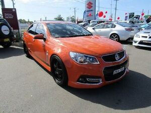 2013 Holden Commodore VF MY14 SS V Orange 6 Speed Sports Automatic Sedan Cardiff Lake Macquarie Area Preview