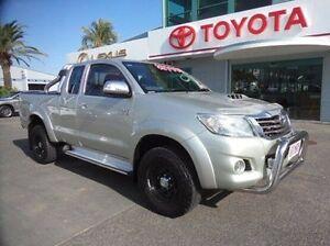 2012 Toyota Hilux KUN26R MY12 SR5 Xtra Cab Silver 5 Speed Manual Utility Rockhampton Rockhampton City Preview