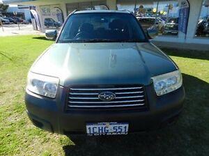 2006 Subaru Forester Green Manual Wagon Victoria Park Victoria Park Area Preview