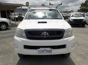 2009 Toyota Hilux White Automatic Cab Chassis Pakenham Cardinia Area Preview