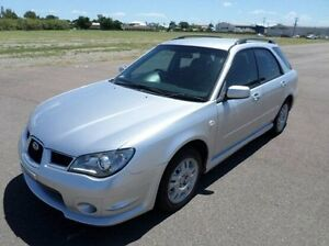 2006 Subaru Impreza S MY07 AWD Silver 4 Speed Automatic Hatchback Hyde Park Townsville City Preview