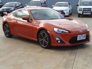 2014 Toyota 86 ZN6 MY14 GTS Velocity Orange 6 Speed Manual Coupe Melton Melton Area Preview