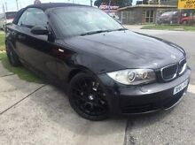 2009 BMW 135I E88 MY09 Steptronic Black 6 Speed Automatic Convertible Dandenong Greater Dandenong Preview