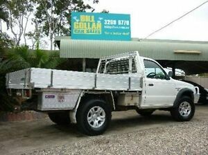 2006 Mazda Bravo B2500 DX Freestyle White 5 Speed Manual Cab Chassis Deagon Brisbane North East Preview