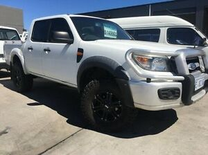 2011 Ford Ranger PK XL White 5 Speed Manual Cab Chassis Invermay Launceston Area Preview
