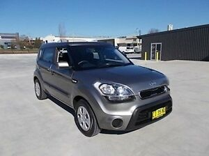 2013 Kia Soul Grey 6 Speed Automatic Hatchback Mitchell Bathurst City Preview