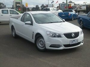 2015 Holden Ute VF MY15 Ute White 6 Speed Sports Automatic Utility Coolaroo Hume Area Preview