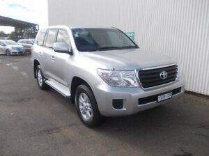 2013 Toyota Landcruiser VDJ200R MY13 GXL Silver 6 Speed Sports Automatic Wagon Dubbo Dubbo Area Preview