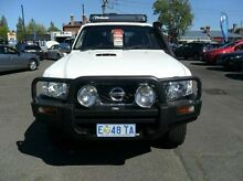 2012 Nissan Patrol GU 7 MY10 DX White 4 Speed Automatic Wagon Invermay Launceston Area Preview
