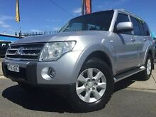 2009 Mitsubishi Pajero NT MY09 GLS Silver 5 Speed Manual Wagon Doveton Casey Area Preview