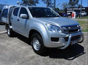 2013 Isuzu D-MAX MY14 SX Crew Cab Silver 5 Speed Sports Automatic Utility Wynnum Brisbane South East Preview