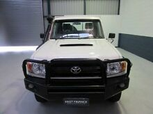 2008 Toyota Landcruiser VDJ79R Workmate White 5 Speed Manual Cab Chassis Nailsworth Prospect Area Preview