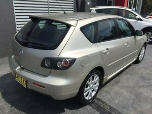 2006 Mazda 3 BK10F2 Maxx Gold Sports Automatic Hatchback Taylors Beach Port Stephens Area Preview