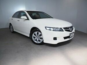 2007 Honda Accord Euro CL MY2007 White 6 Speed Manual Sedan Mount Gambier Grant Area Preview