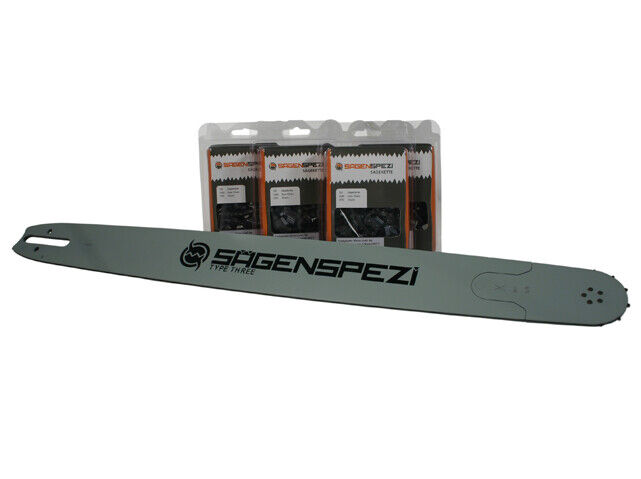 """38cm Schwert .325/"""" 2 Ketten 64TG 1,3mm für Dolmar PS5100SH"""