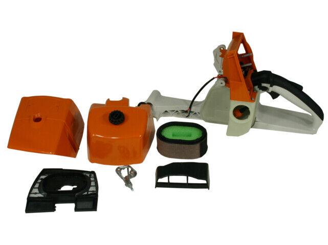 Griffgehäuse mit Vergaserhaube passend für Stihl MS 310 MS310 Set