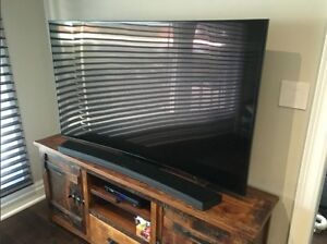65' SAMSUNG 7250 4K ULTRA HD CURVED TV - NO EMAILS