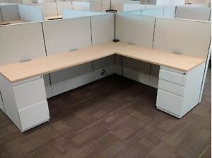 Used Haworth Cubicles