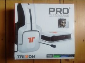 Tritton Pro+ True 5.1 Surround Headset with Microphone for Xbox 360, PS3, PC