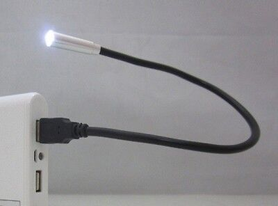 BOOK READING LED LIGHT USB Mini for Travel Laptop PC Desk Flexible Snake lamp