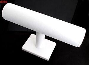 Useful-White-Velet-Holder-DIY-For-Bracelet-Bangle-Watch-Display-Rock-Case-FT78