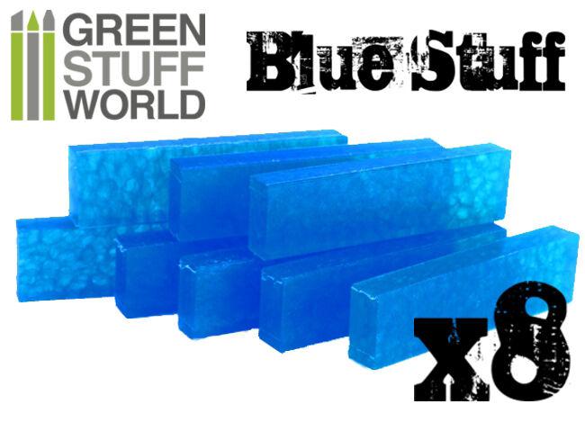 Blue Stuff 8Bars - Make reusables instant molds - Warhammer 40K OOAK Doll Reborn