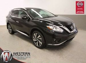 2015 Nissan Murano -Platinum AWD - Dealer Demo