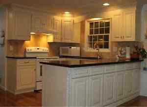 Anquite white all wood kitchen cabinets for sale ebay for White cabinets for sale