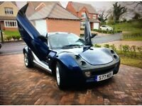 Smart Roadster Coupe Lambo Doors