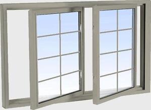 Tilt Slider Windows - Vinyl Double Tilt Slider Windows - We have a large selection of windows!!