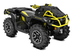 SAVE $1550 on a NEW 2018 Can Am Outlander 1000 XMR