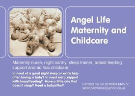 Maternity night nanny and Sleep trainer