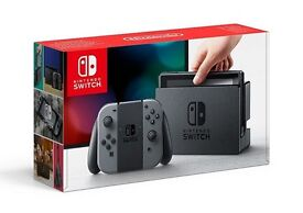 Nintendo Switch (Grey) 32gb with Zelda and official Carry Case
