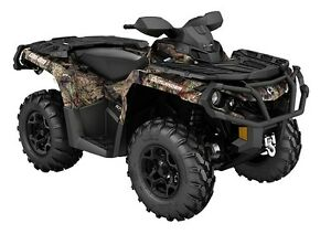 Used 2015 Can-Am OUTLANDER 1000 XT CAMO