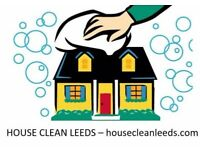 House Clean Leeds - let us clean your home! Domestic cleaning services, competitive rates from £10ph