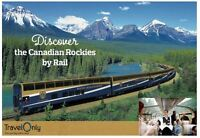 Save $1200 on a Rocky Mountaineer Train Ride
