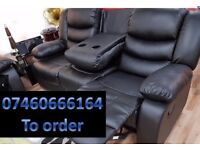 SOFA BRAND NEW RECLINER LEATHER SOFA FAST DELIVERY LAZYBOY 27