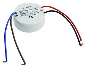 12W LED Gleichstrom Trafo Transformator  0,5-12 W für 12V LED Leuchtmittel Lampe