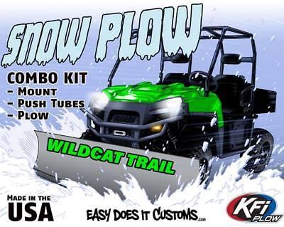 Textron Off Road Wildcat Sport   Trail 2018    Kfi Utv 66  Snow Plow Combo Kit