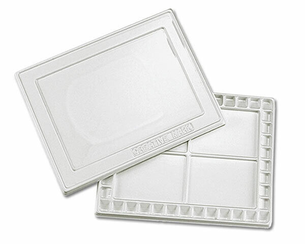 """Creative Mark Watercolor Painting Palette with Cover 12"""" x 16"""" Plastic Tray"""