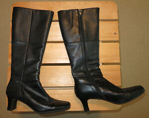 Leather Boots 2 Pairs