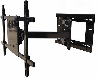 Professional Smooth Arm LED TV Mount for Sharp Samsung Vizio 40 46 50 55 60 65 (Led-tv 50 Sharp)